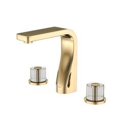330 2000 21 3-hole basin mixer | Wash basin taps | Steinberg