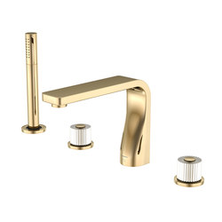 330 2400 22 4-hole deck mounted bath/shower mixer | Bath taps | Steinberg