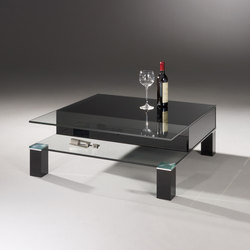 Theben 99/2 OW - jet black | Lounge tables | Dreieck Design