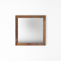 Organik SQUARE HANGING MIRROR 120 | Mirrors | Karpenter