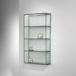 Vitro III – FLOATGLAS klar | Display cabinets | Dreieck Design