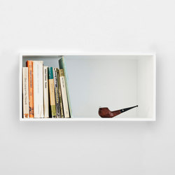 Mini Stacked Shelf Systems | large | Shelving systems | Muuto