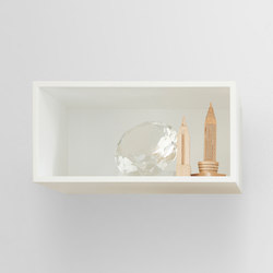 Mini Stacked Shelf Systems | small | Shelves | Muuto