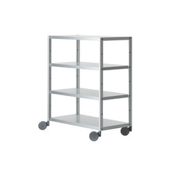 Rack Offenes Rollregal | Office shelving systems | Magis