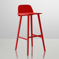 Nerd Bar Stool | high | Taburetes de bar | Muuto