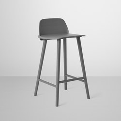 Nerd Bar Stool | low | Taburetes de bar | Muuto