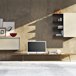 Pass-Word_Living | Credenze multimediali | Molteni & C