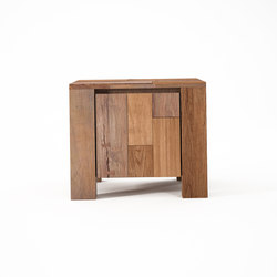 Organik SIDE - BEDSIDE TABLE with DOOR | Mesillas de noche | Karpenter