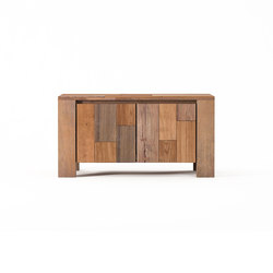 Organik MEDIA CABINET with 2 DOORS | Multimedia sideboards | Karpenter