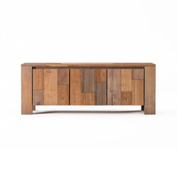 Organik MEDIA CABINET with 3 DOORS | Multimedia sideboards | Karpenter