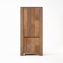 Organik WARDROBE-CUPBOARD with 2 DOORS | Armadi | Karpenter