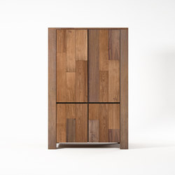 Organik WARDROBE-CUPBOARD with 4 DOORS | Armadi | Karpenter