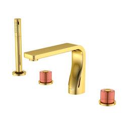 330 2400 44 4-hole deck mounted bath/shower mixer | Bath taps | Steinberg