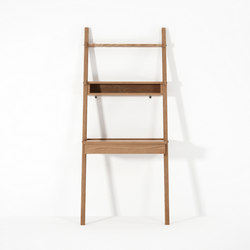 Simply City LADDER with DRAWER DESK & NICHE | Bath shelving | Karpenter