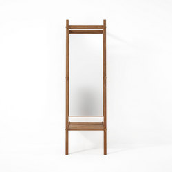 Simply City STANDING MIRROR & SHELF | Mirrors | Karpenter