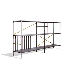 New Prairie Horizontal Bookcase | Sistemi scaffale | Sauder Boutique