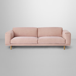 Rest | 3-seater | Canapés d'attente | Muuto
