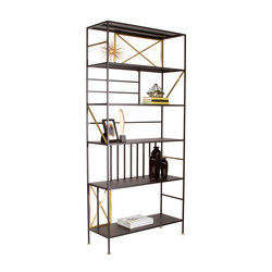 New Prairie Vertical Bookcase | Librerías | Sauder Boutique