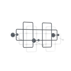 Bazar Wall-mounted rack, medium | Percheros de pared | Lampert