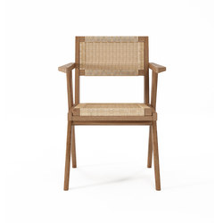 Tribute ARMCHAIR with WOVEN DANISH PAPER CORD | Sedie | Karpenter
