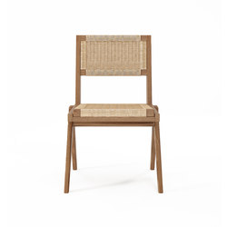 Tribute CHAIR with WOVEN DANISH PAPER CORD | Sedie | Karpenter