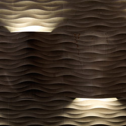 Complementi Luce | Fondo coni luce | Natural stone panels | Lithos Design