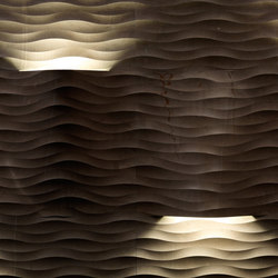 Le Pietre Incise | Fondo coni luce | Natural stone panels | Lithos Design