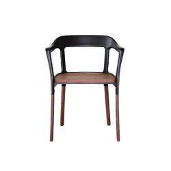 Steelwood Sedia | Visitors chairs / Side chairs | Magis