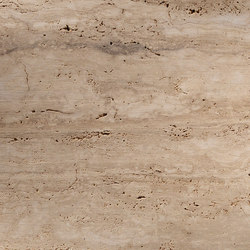 Materialien | travertino etrusco | Natursteinplatten | Lithos Design