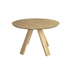 Oak A Line | Restaurant tables | dutchglobe