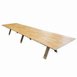 Oak A Line | AV tables | dutchglobe