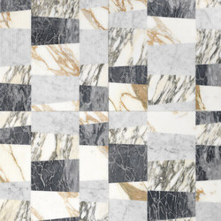 Opus | Piano patchwork r | Natural stone slabs | Lithos Design