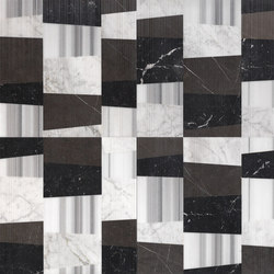 Opus | Piano smoking r | Natural stone panels | Lithos Design