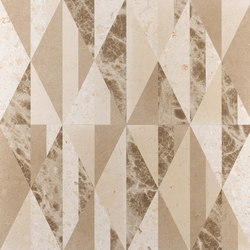 Opus | Tangram chantilly | Natural stone panels | Lithos Design