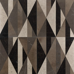 Opus | Tangram club | Natural stone panels | Lithos Design