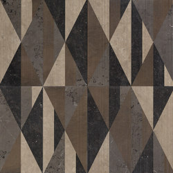 Opus | Tangram club r | Azulejos de pared de piedra natural | Lithos Design