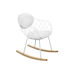 Piña Rocking Chair | Loungesessel | Magis