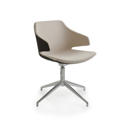 Meraviglia MV4 | Visitors chairs / Side chairs | Luxy