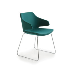 Meraviglia MV1 | Visitors chairs / Side chairs | Luxy