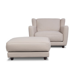 BERGÈRE LONGE Armchair | Pouf | Loungesessel | Baxter