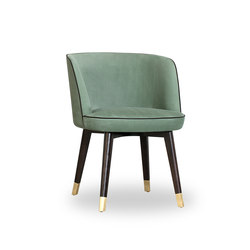 COLETTE Little armchair | Restaurant chairs | Baxter