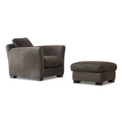DINER Armchair | Pouf | Lounge chairs | Baxter