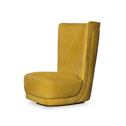 ETIENNE BERGÈRE Revolving armchair | Loungesessel | Baxter