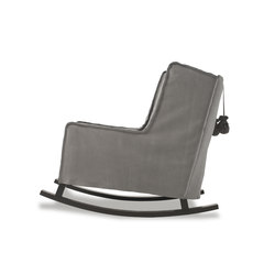 HOUSSE ROCKING Chair | Loungesessel | Baxter
