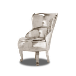 SELLERINA ALUMINIUM Armchair | Lounge chairs | Baxter