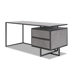 TRINITY Desk with drawers | Bureaux plats | Baxter