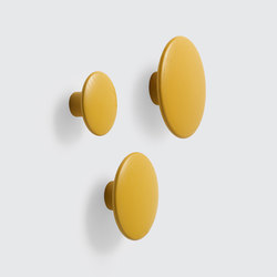 The Dots Coat Hooks | wood | Built-in wardrobes | Muuto