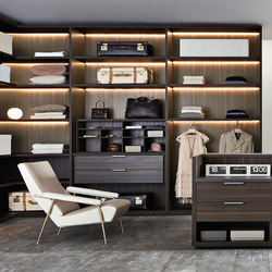 Gliss_Walk-In closet Master | Vestidores | Molteni & C
