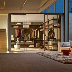 Gliss_Walk-In closet Walk In | Begehbare Schränke | Molteni & C