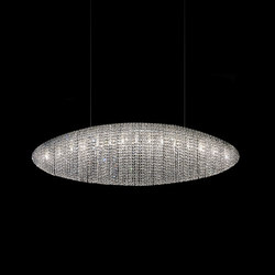 Silk Led | Ceiling suspended chandeliers | Manooi